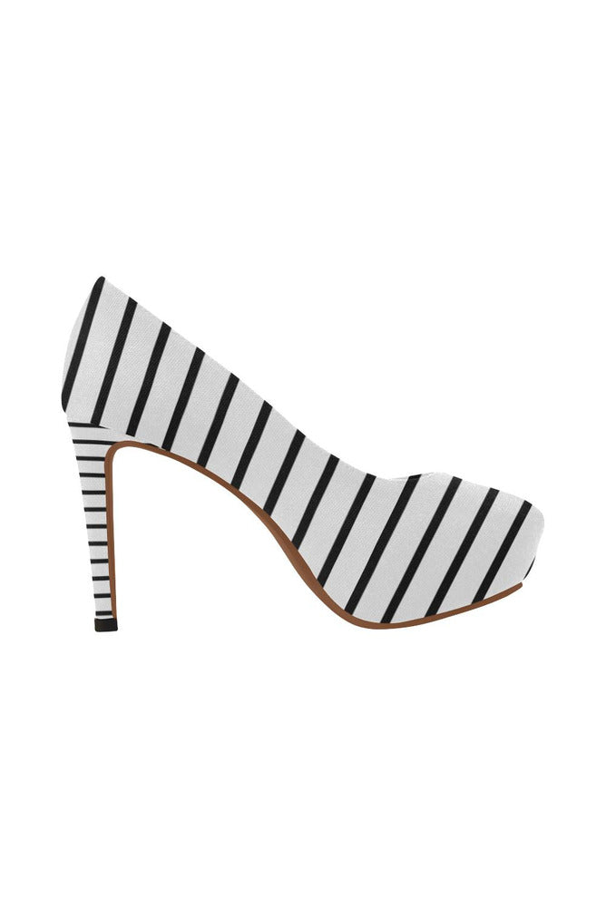 Between the Lines Women's High Heels - Objet D'Art Online Retail Store