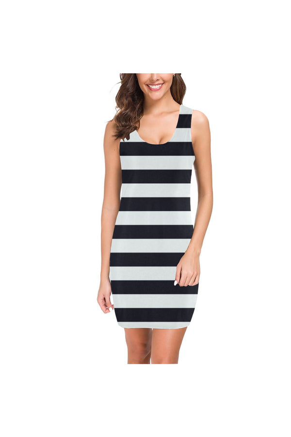 Bold Stripes Medea Vest Dress (Model D06)