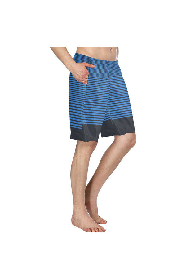 Modern Stripes Men's Swim Trunk - Objet D'Art Online Retail Store