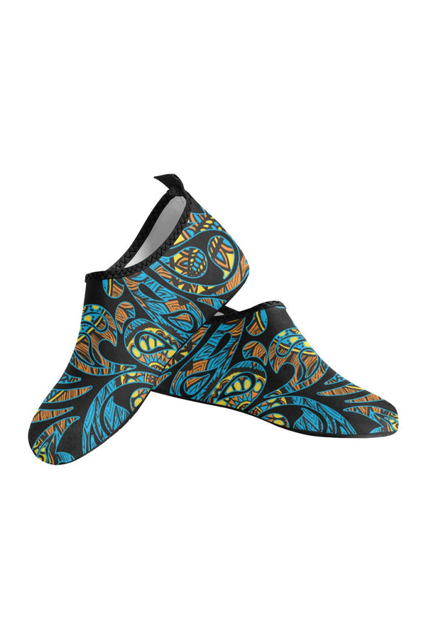 Afro Scroll Women's Slip-On Water Shoes