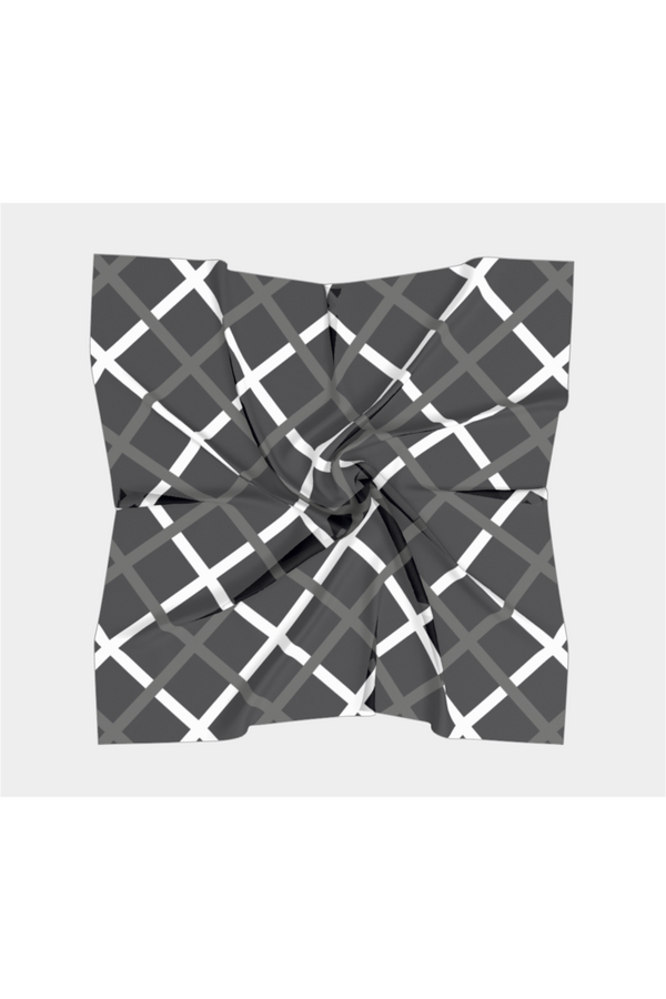 Cross Hatch Square Scarf - Objet D'Art Online Retail Store