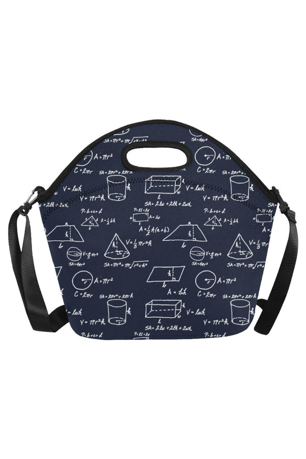 Math & Geometry Neoprene Lunch Bag/Large