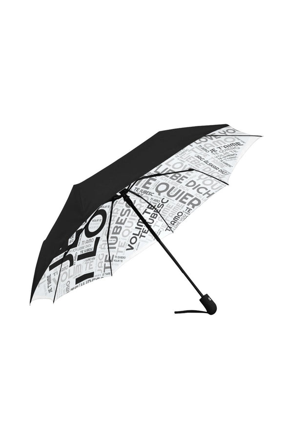 I LOVE YOU Anti-UV Auto-Foldable Umbrella (Underside Printing) - Objet D'Art Online Retail Store