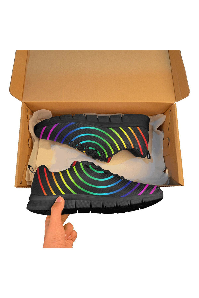 Rainbow Racer Women's Breathable Running Shoes