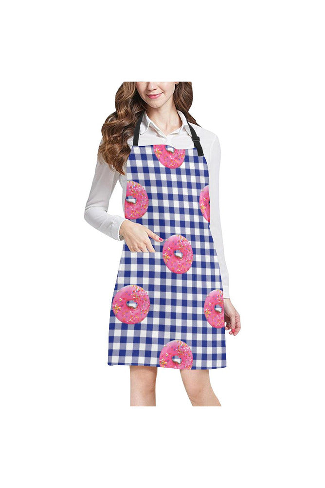 Donuts on Gingham Apron - Objet D'Art Online Retail Store