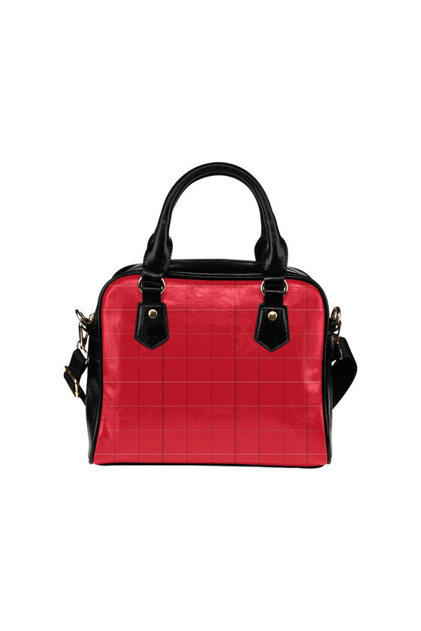Micro Plaid 2 Shoulder Handbag