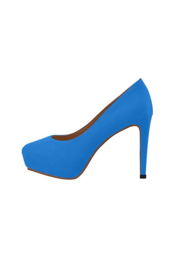 Coral Blue Women's High Heels