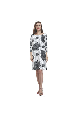 Paisley Hearts Rhea Loose Round Neck Dress - Objet D'Art Online Retail Store