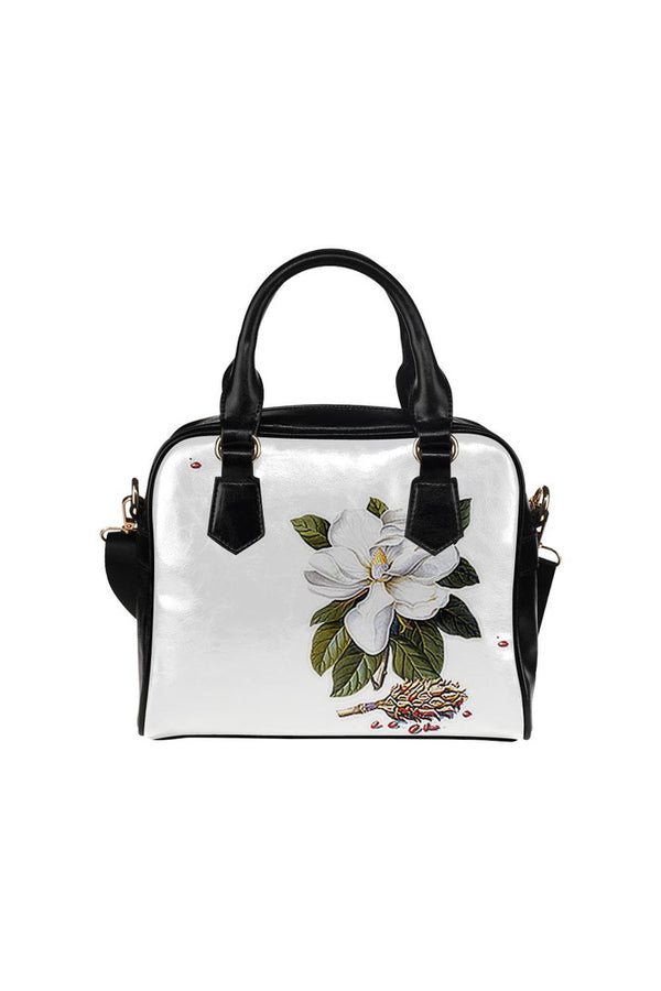 Big Magnolia Shoulder Handbag (Model 1634)