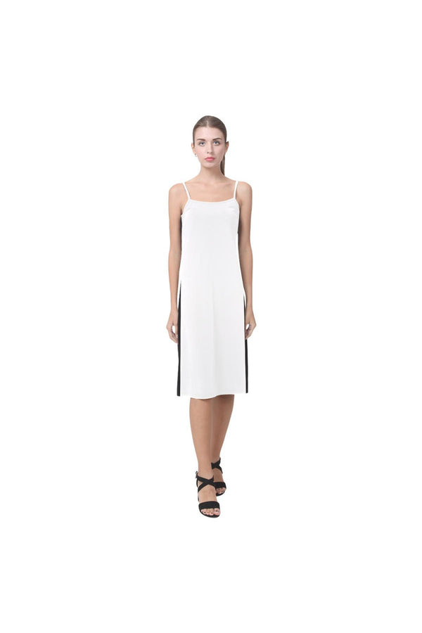 Black & White Alcestis Slip Dress (Model D05)