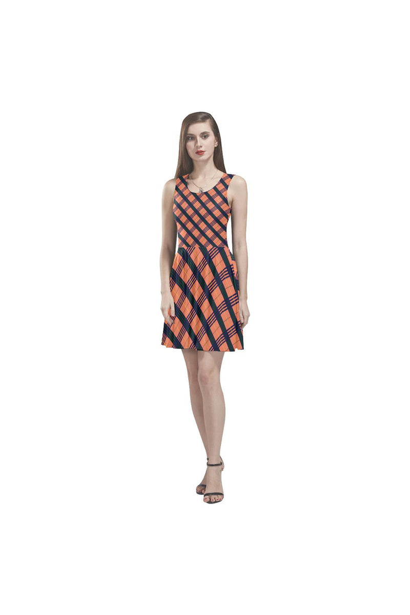 Tartan Triumph Thea Sleeveless Skater Dress - Objet D'Art Online Retail Store