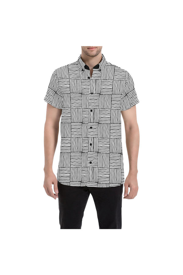 Woven Wonder Men's All Over Print Short Sleeve Shirt
