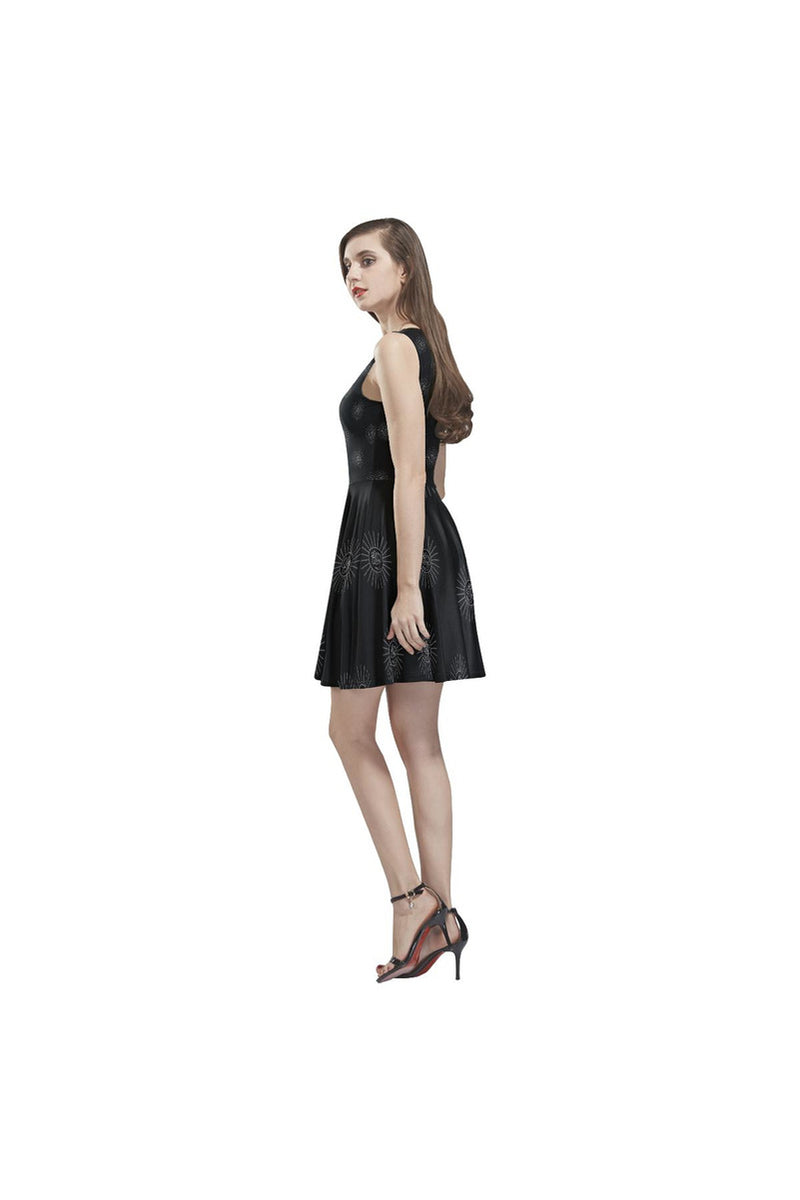 AUM ALL RIGHT Thea Sleeveless Skater Dress - Objet D'Art Online Retail Store
