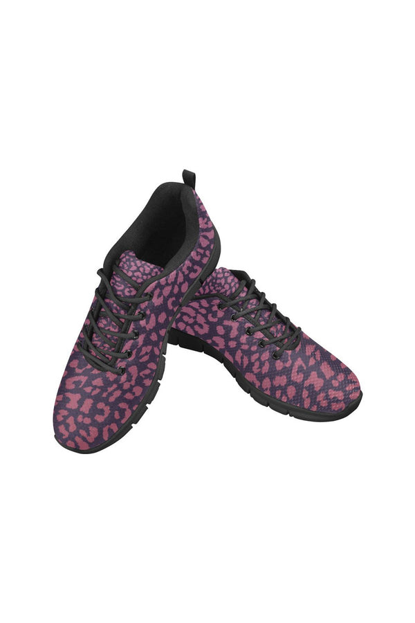 Berry Leopard Women's Breathable Running Shoes - Objet D'Art Online Retail Store