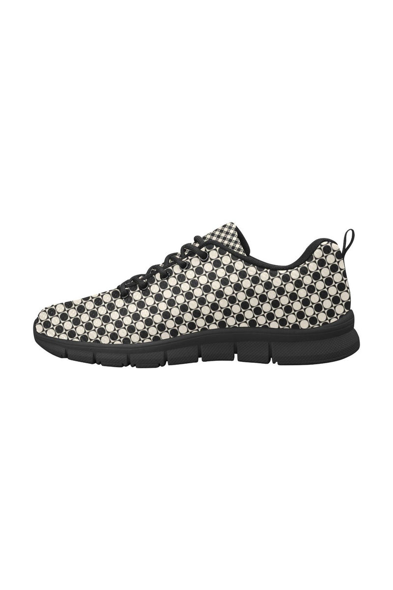 Circles in Squares Women's Breathable Running Shoes - Objet D'Art Online Retail Store