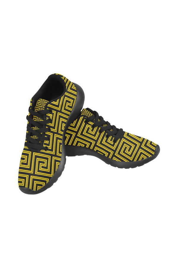 Greek Key Men's Running Shoes/Large Size (Model 020)