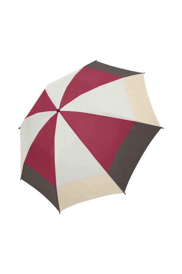 Warm Colors Semi-Automatic Foldable Umbrella (Model U05)