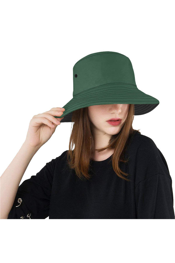 Eden Green All Over Print Bucket Hat