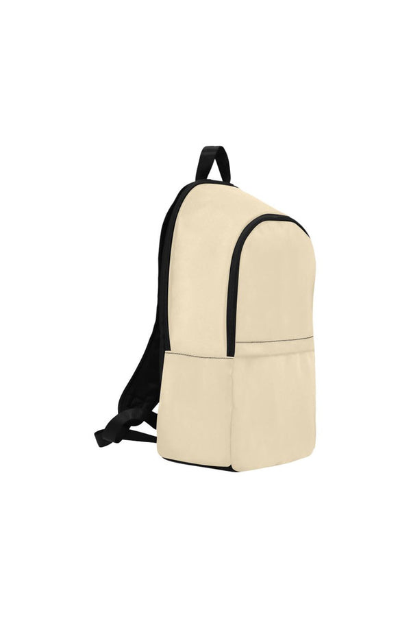 Vanilla Custard Fabric Backpack for Adult