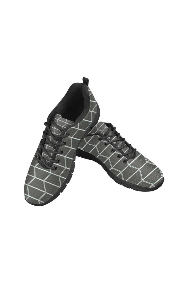 Gray Camo Women's Breathable Running Shoes - Objet D'Art Online Retail Store