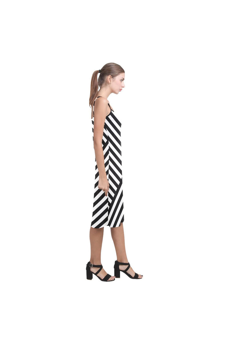 Butting Stripes Alcestis Slip Dress - Objet D'Art Online Retail Store