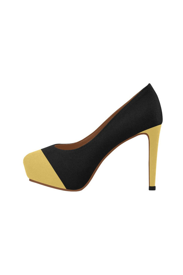 Two tone Women's High Heels