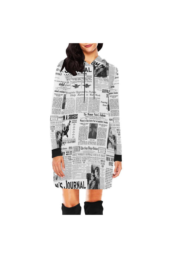Women's Suffrage Hoodie Mini Dress