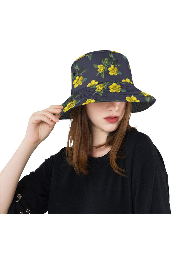Golden Guinea Eclipse Blue All Over Print Bucket Hat