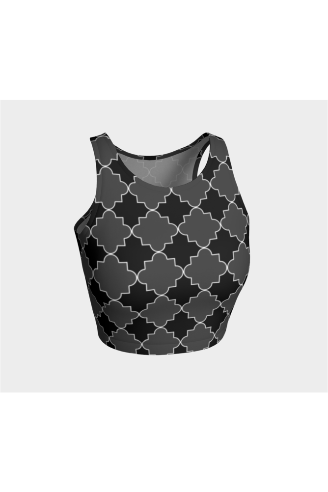 Geo Tessellation Athletic Top - Objet D'Art Online Retail Store