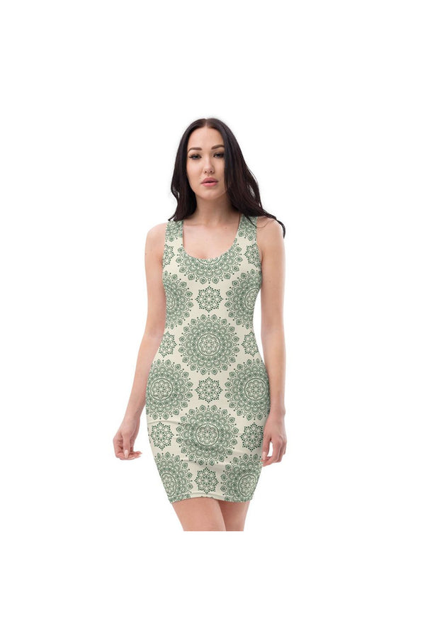 Mandala Sublimation Cut & Sew Dress