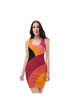 Eden Abstract Sublimation Cut & Sew Dress