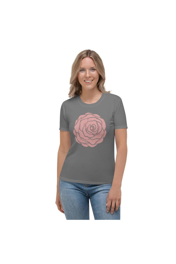 Pink Rose Women's T-shirt