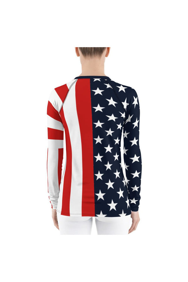 USA Women's Rash Guard