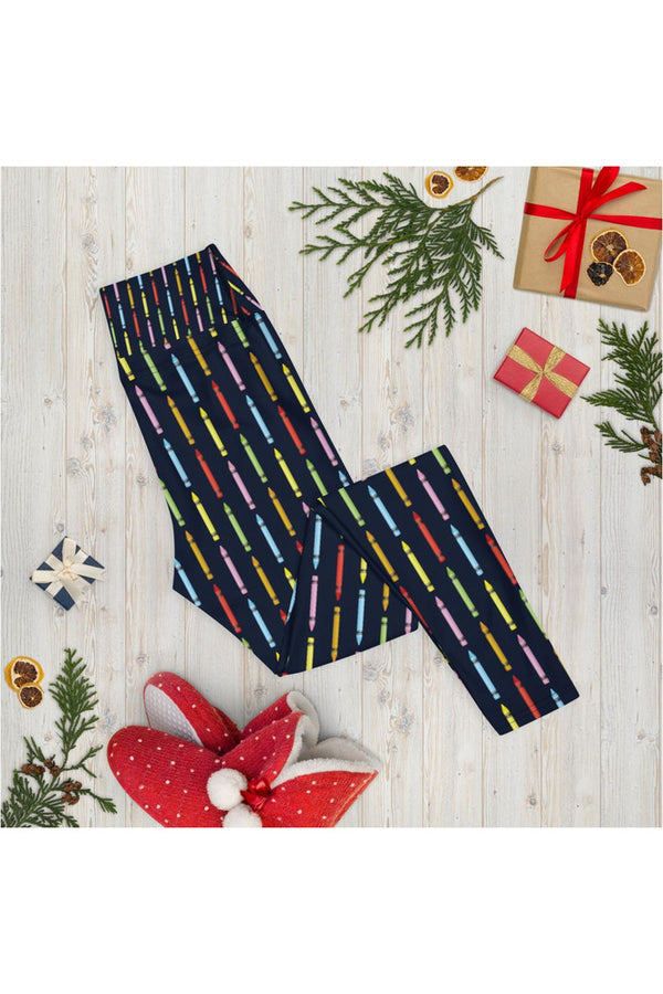 Crayons Yoga Leggings