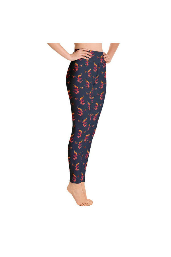 Phoenix Rising Yoga Leggings