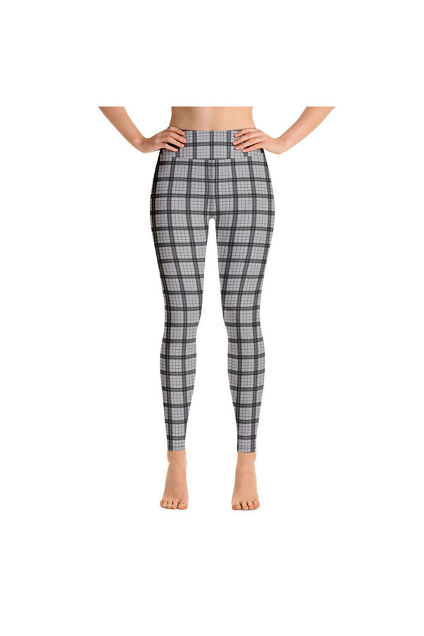 Ash Avenue Plaid Yoga Leggings