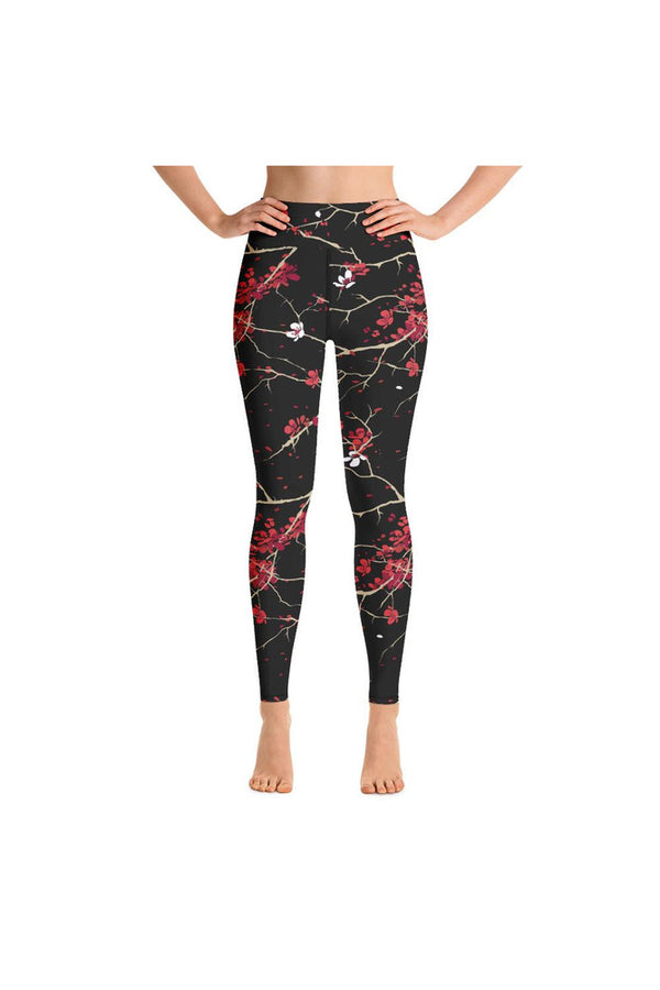 Sakura Dusk Yoga Leggings
