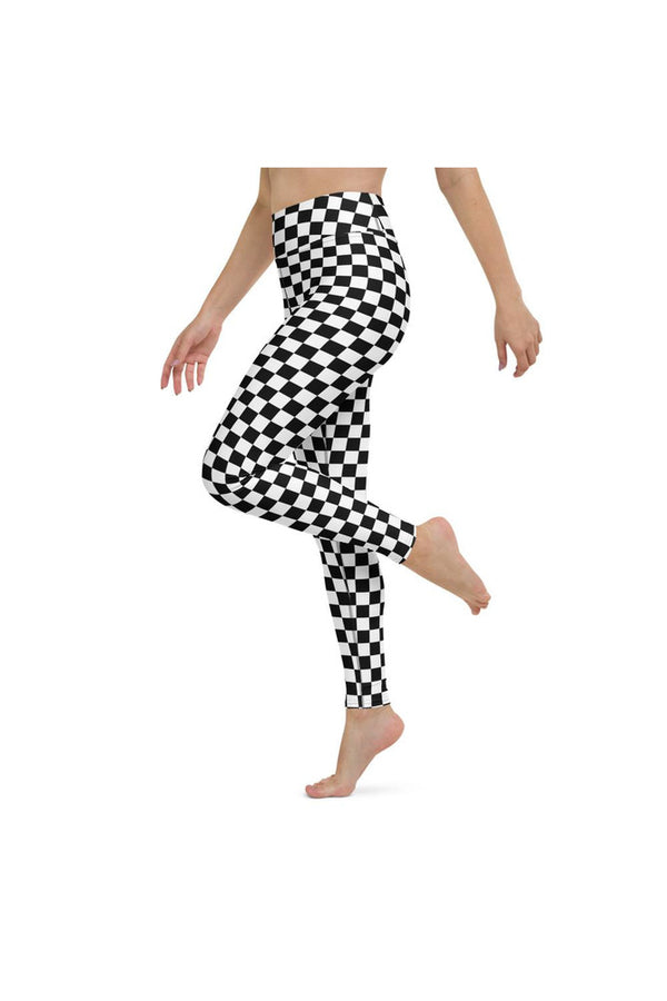 Checkered Yoga Leggings