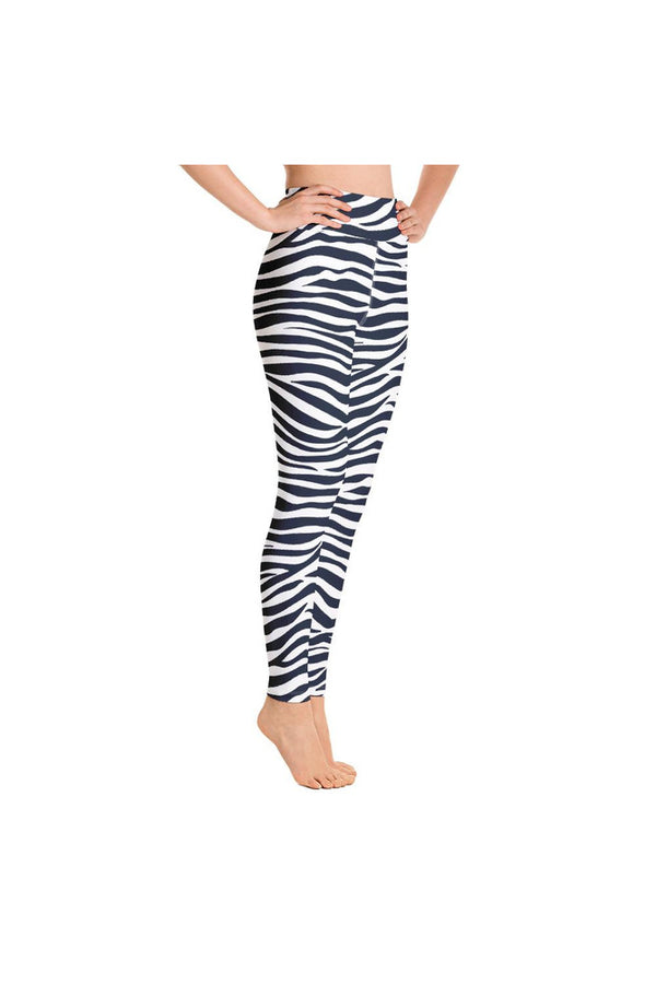 Blue Tiger Yoga Leggings