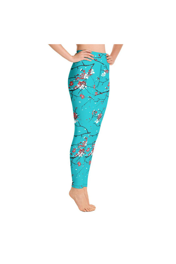 Sakura Spring Yoga Leggings