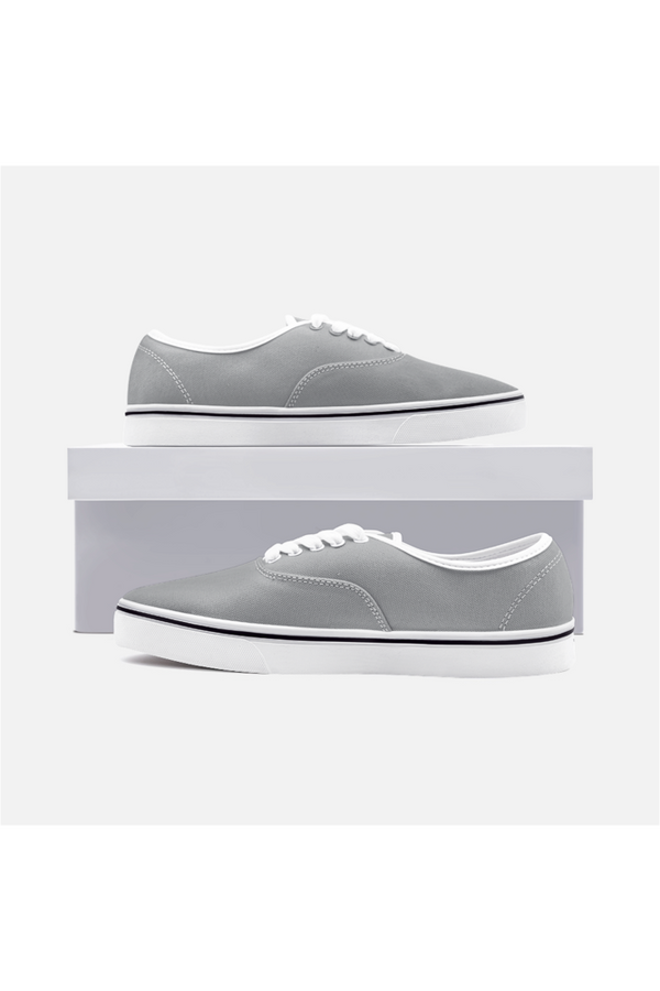 Ultimate Gray  Canvas Sneakers