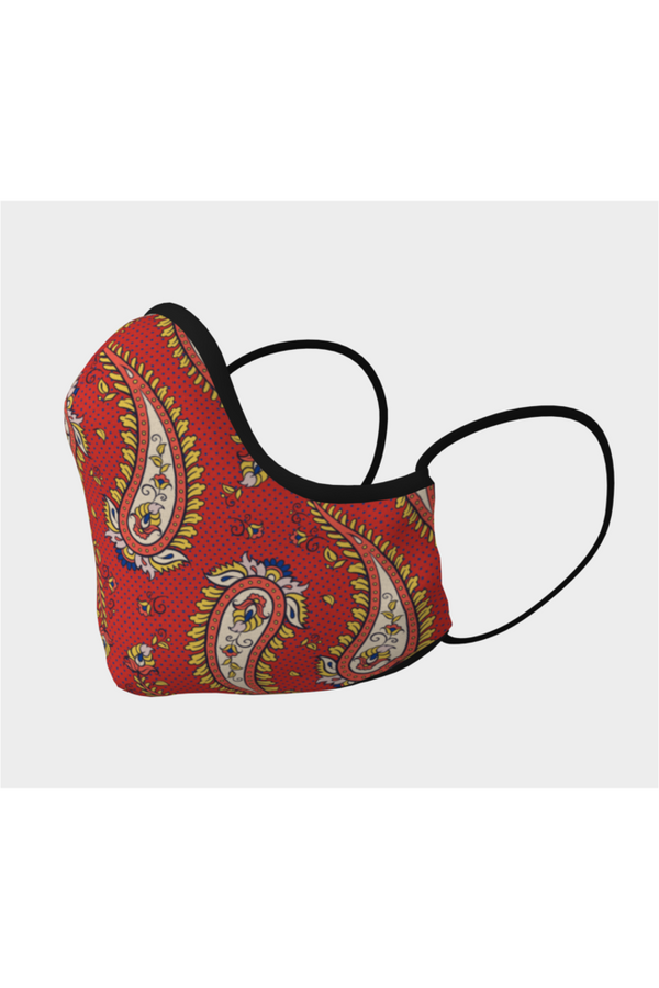 Paisley Pandemic Face Mask