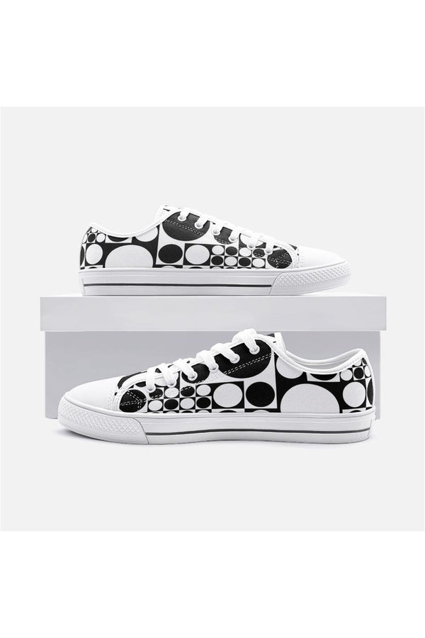Round-a-bout Unisex Low Top Canvas Shoes