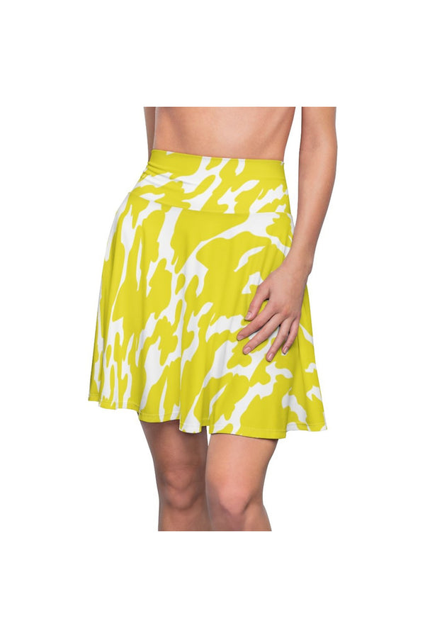 Lemon Zest Women's Skater Skirt