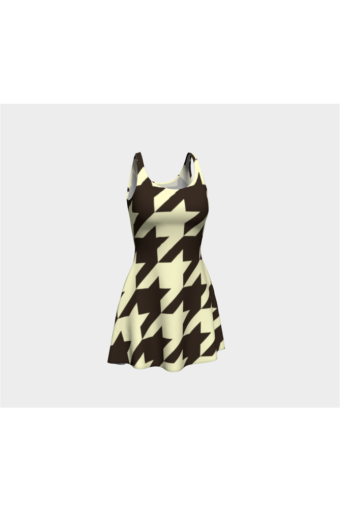 Cream and Cocao Houndstooth - Objet D'Art Online Retail Store