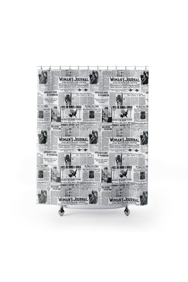 Women's Suffrage Shower Curtains