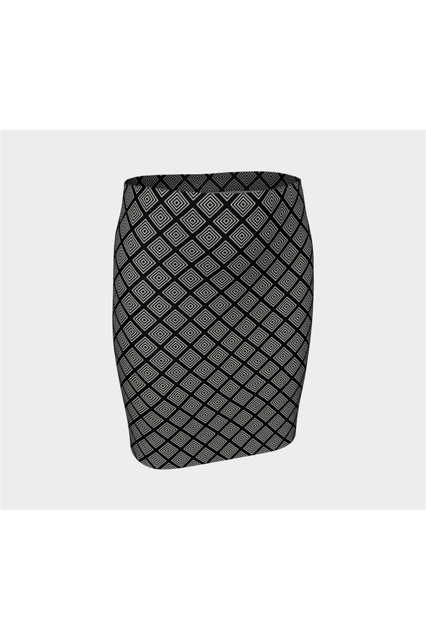 Diamond Life Fitted Skirt - Objet D'Art Online Retail Store