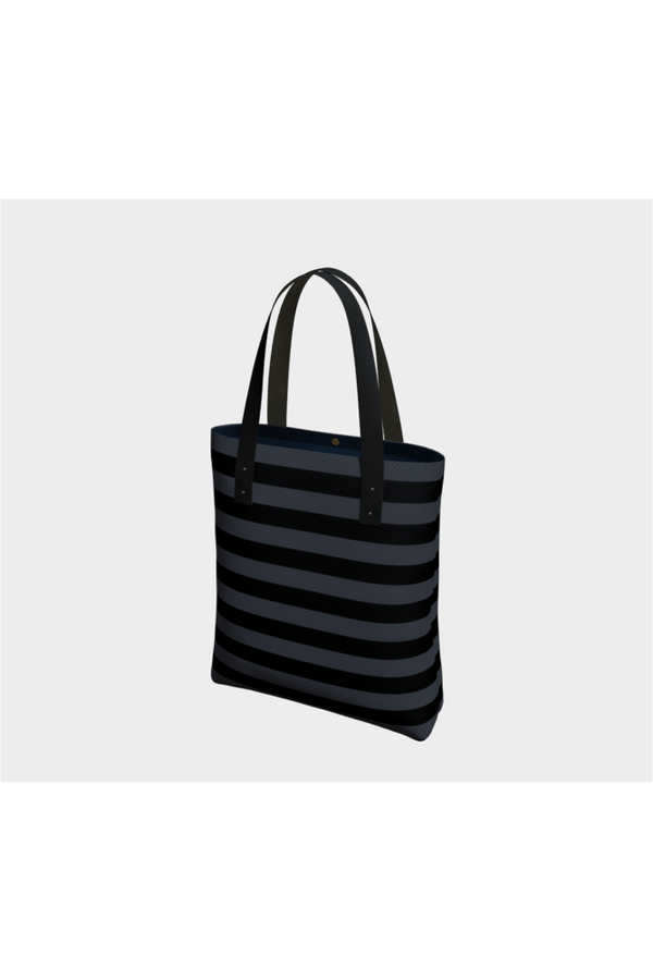 Adinkra Stripes Tote Bag