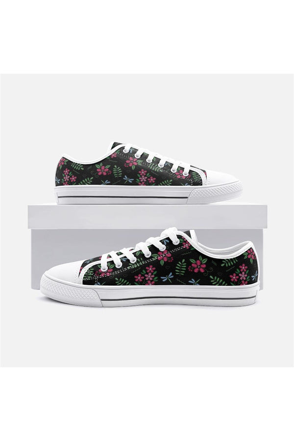 Beauty of Dragonflies Unisex Low Top Canvas Shoes