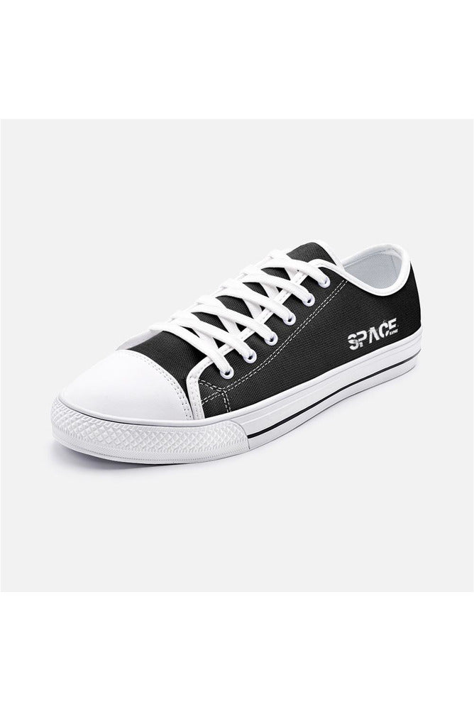 Space Enthusiasts Unisex Low Top Canvas Shoes